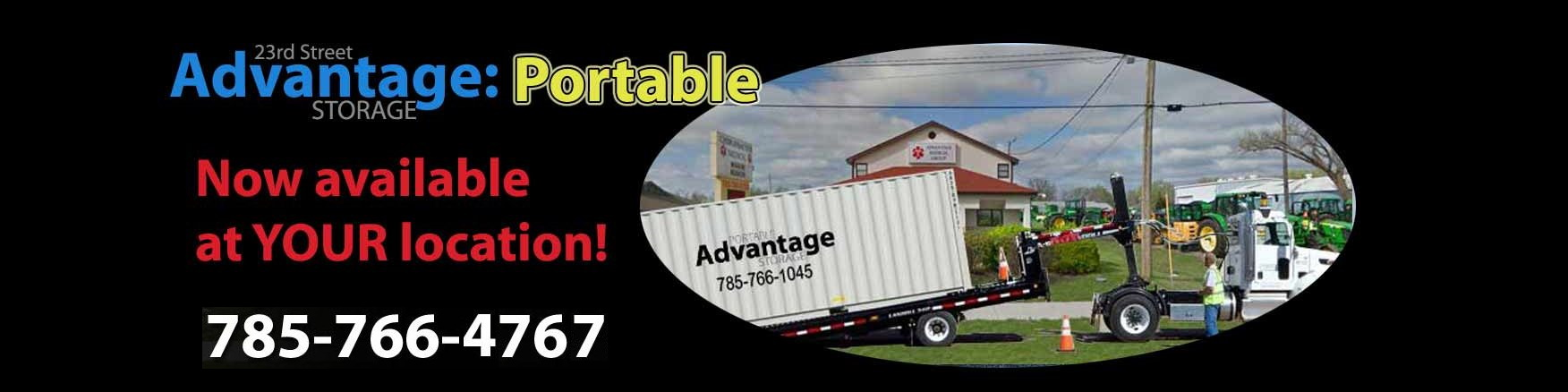 Advantage-Portable Storage Units